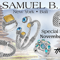 SAMUEL B. DESIGNS TRUNK SHOW!